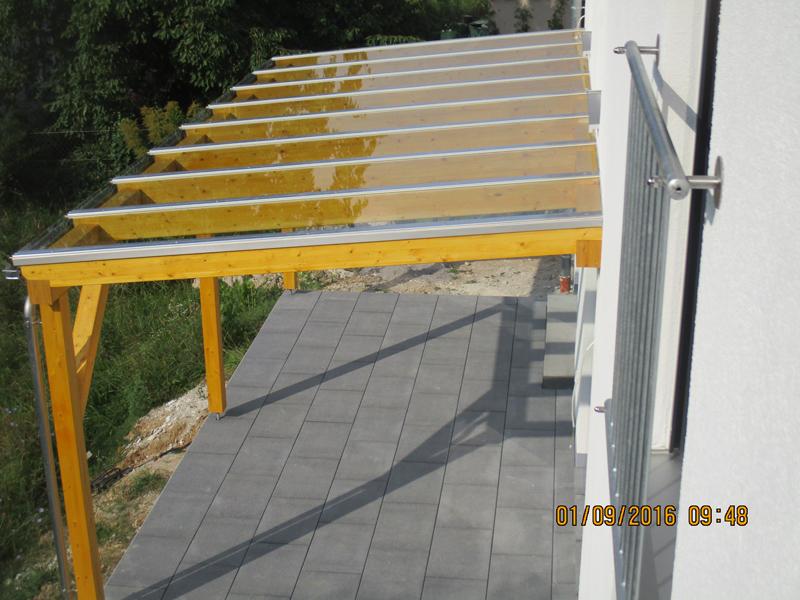 Glasdach Carport max holzwerk ohg wir bauen ihren anbau oder carport oder ihr